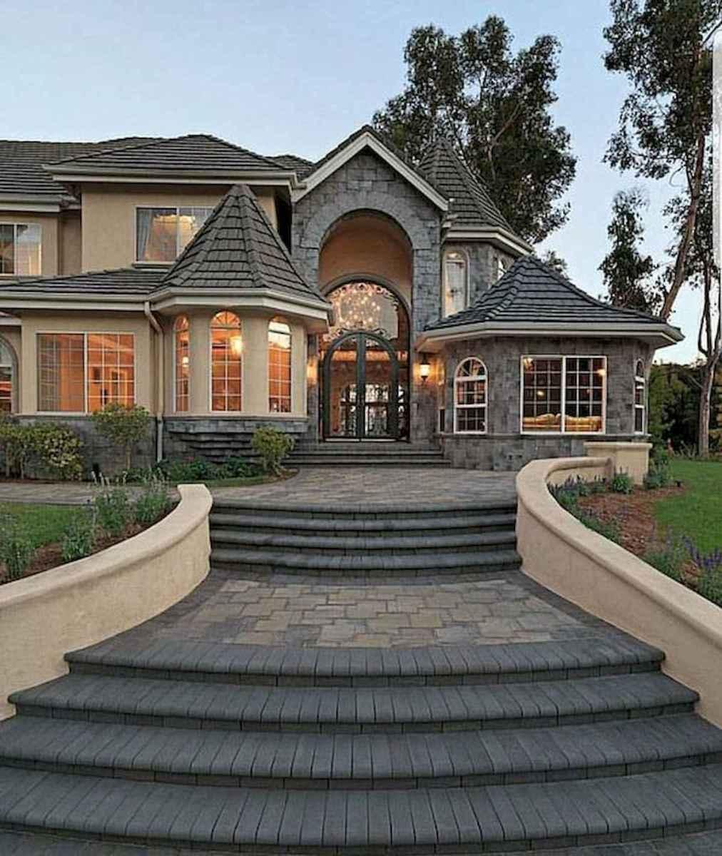 40 Fantastic Dream Home Exterior Design Ideas (27)