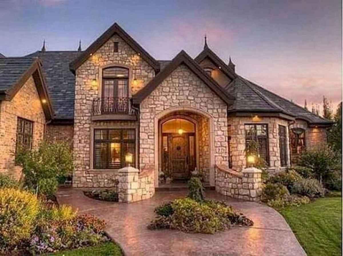 40 Fantastic Dream Home Exterior Design Ideas (31)