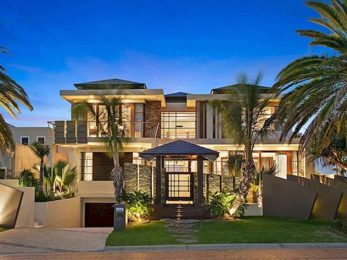 40 Stunning Mansions Luxury Exterior Design Ideas (11)