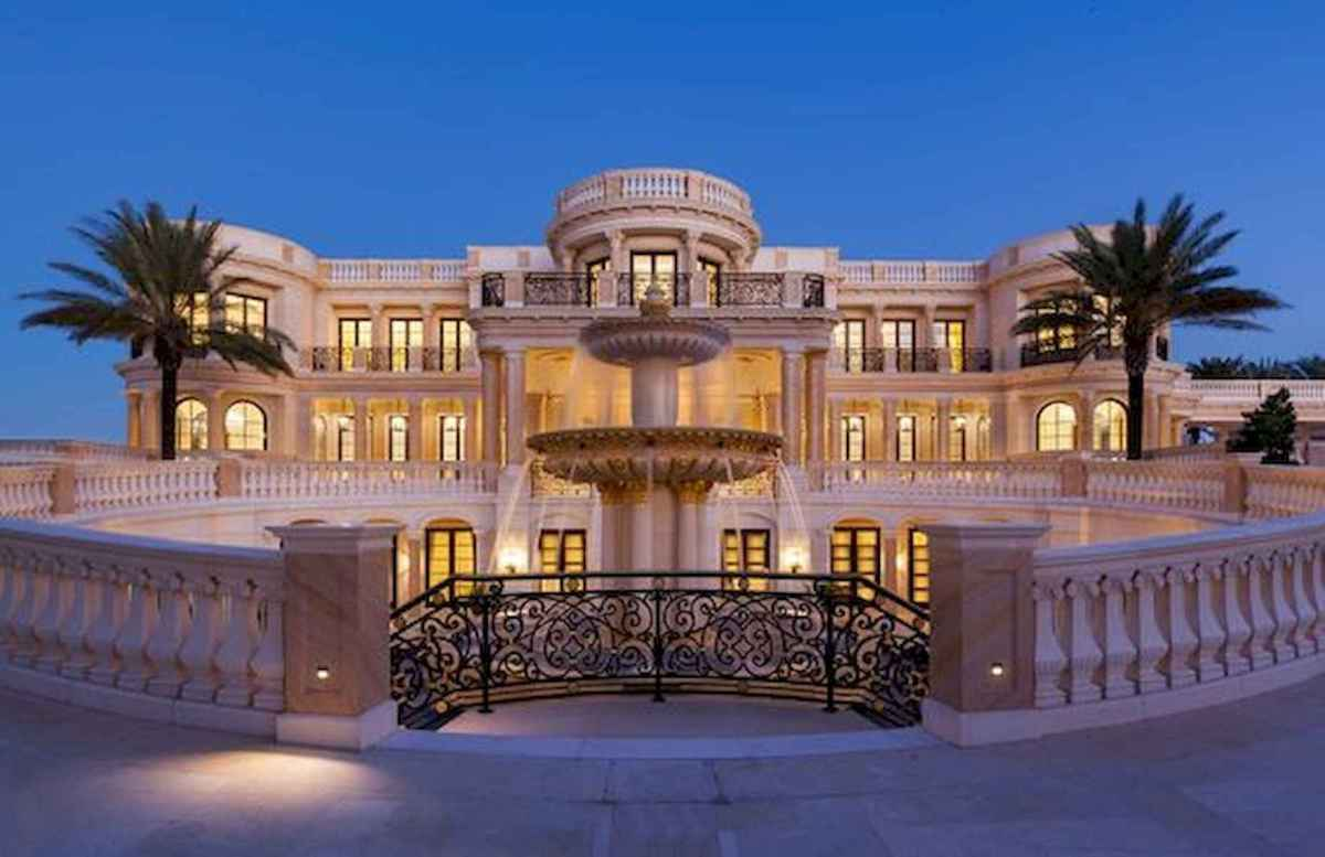 40 Stunning Mansions Luxury Exterior Design Ideas (14)