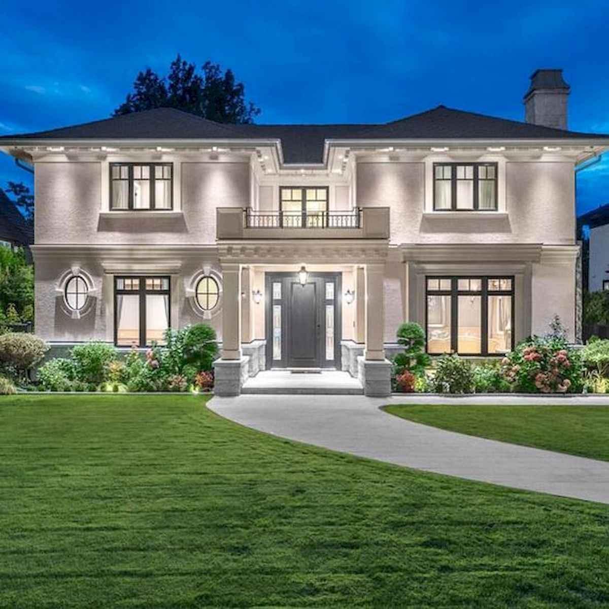40 Stunning Mansions Luxury Exterior Design Ideas (2)