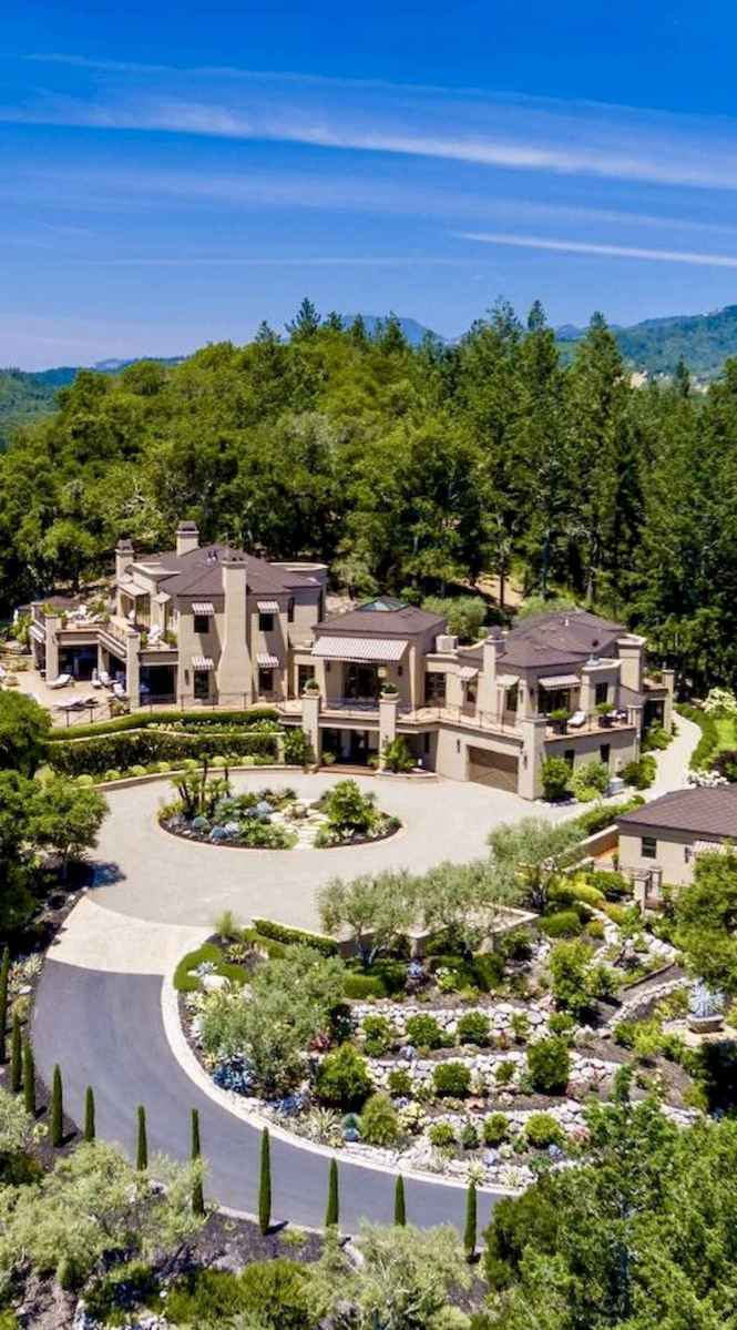40 Stunning Mansions Luxury Exterior Design Ideas (7)