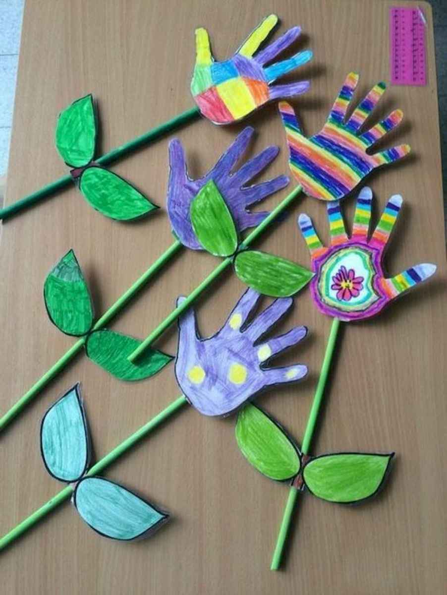 50 Awesome Spring Crafts for Kids Ideas (13)