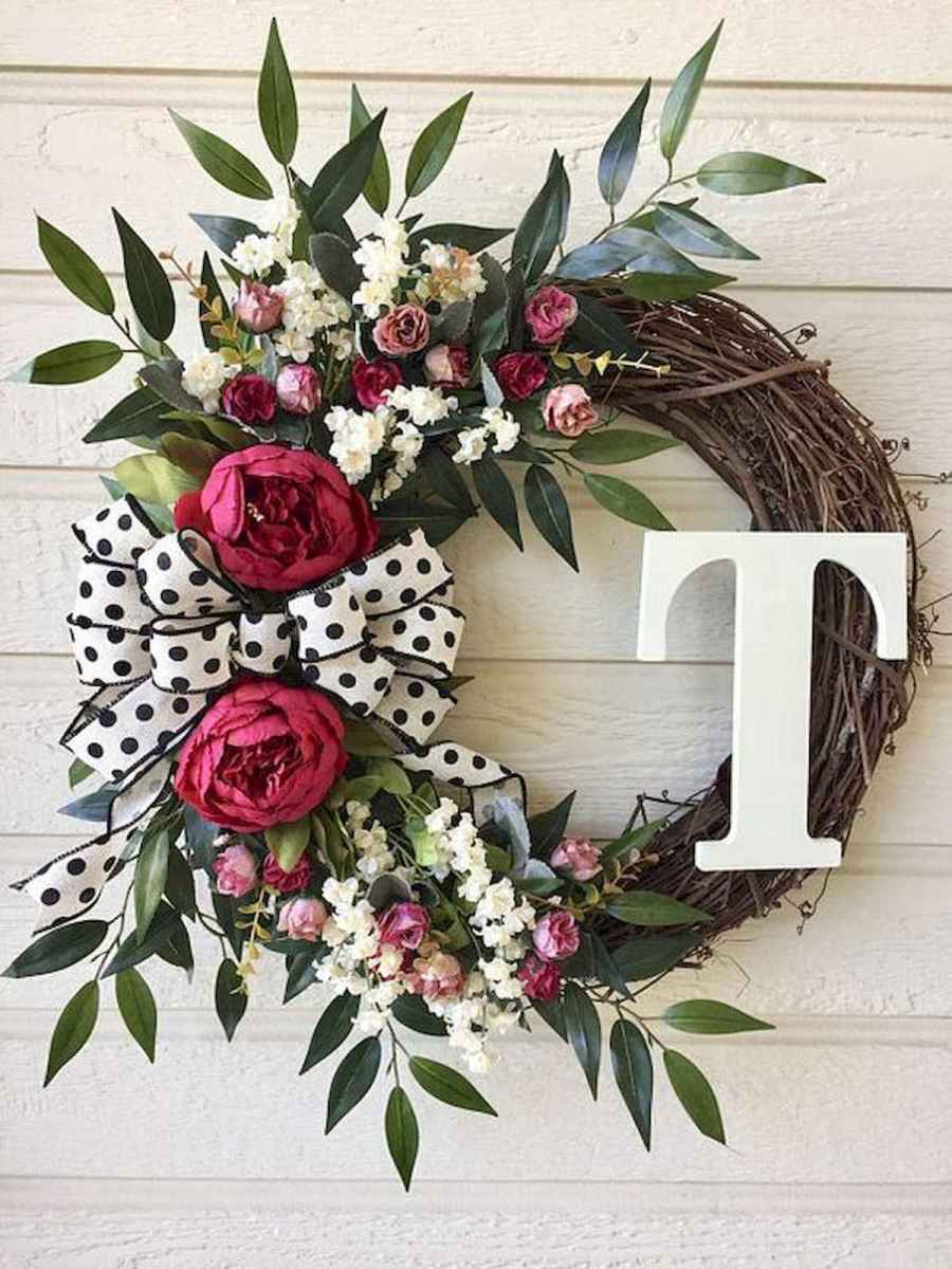 60 Favorite Spring Wreaths for Front Door Design Ideas And Decor (10)