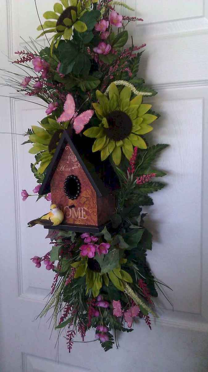 60 Favorite Spring Wreaths for Front Door Design Ideas And Decor (25)