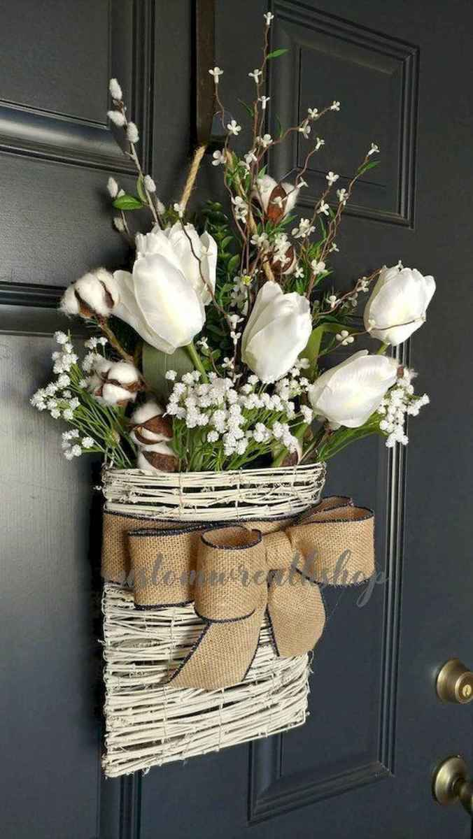 60 Favorite Spring Wreaths for Front Door Design Ideas And Decor (3)