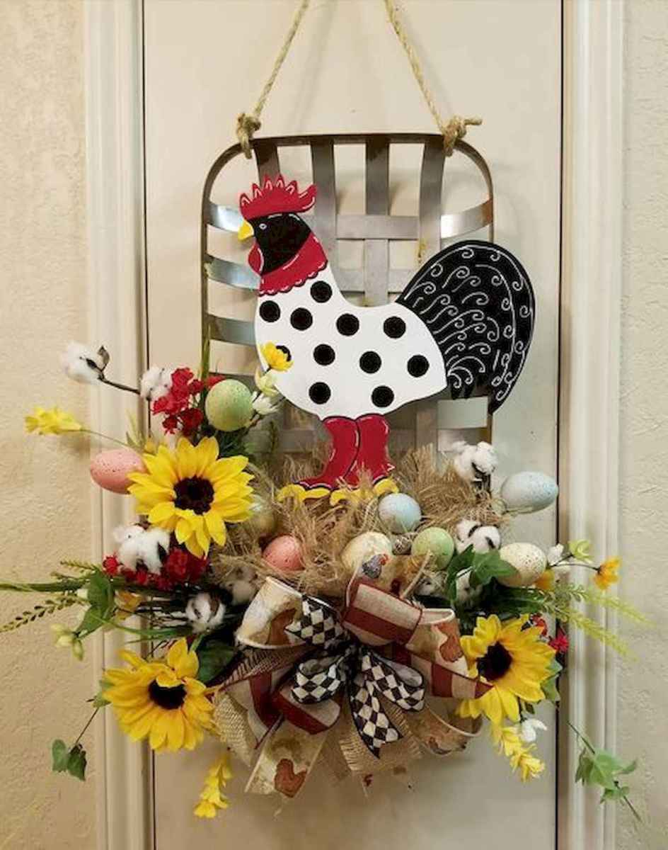 60 Favorite Spring Wreaths for Front Door Design Ideas And Decor (30)