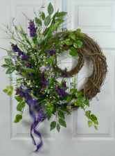 60 Favorite Spring Wreaths for Front Door Design Ideas And Decor (45)