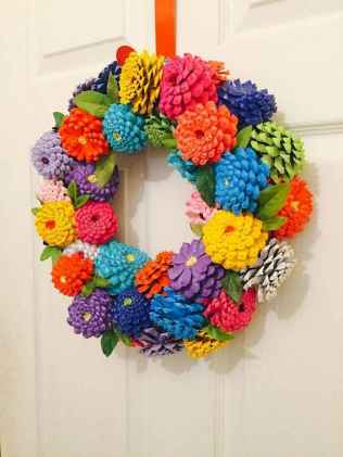 60 Favorite Spring Wreaths for Front Door Design Ideas And Decor (53)