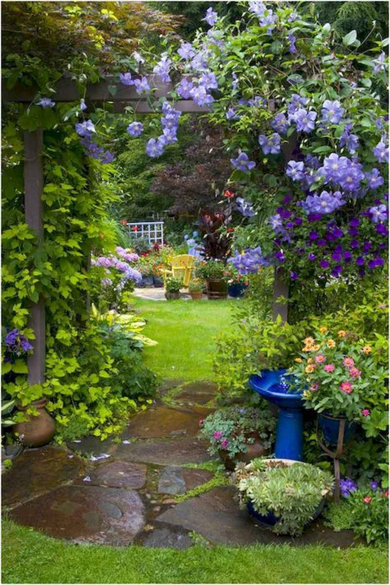 40 Awesome Secret Garden Design Ideas For Summer (39)