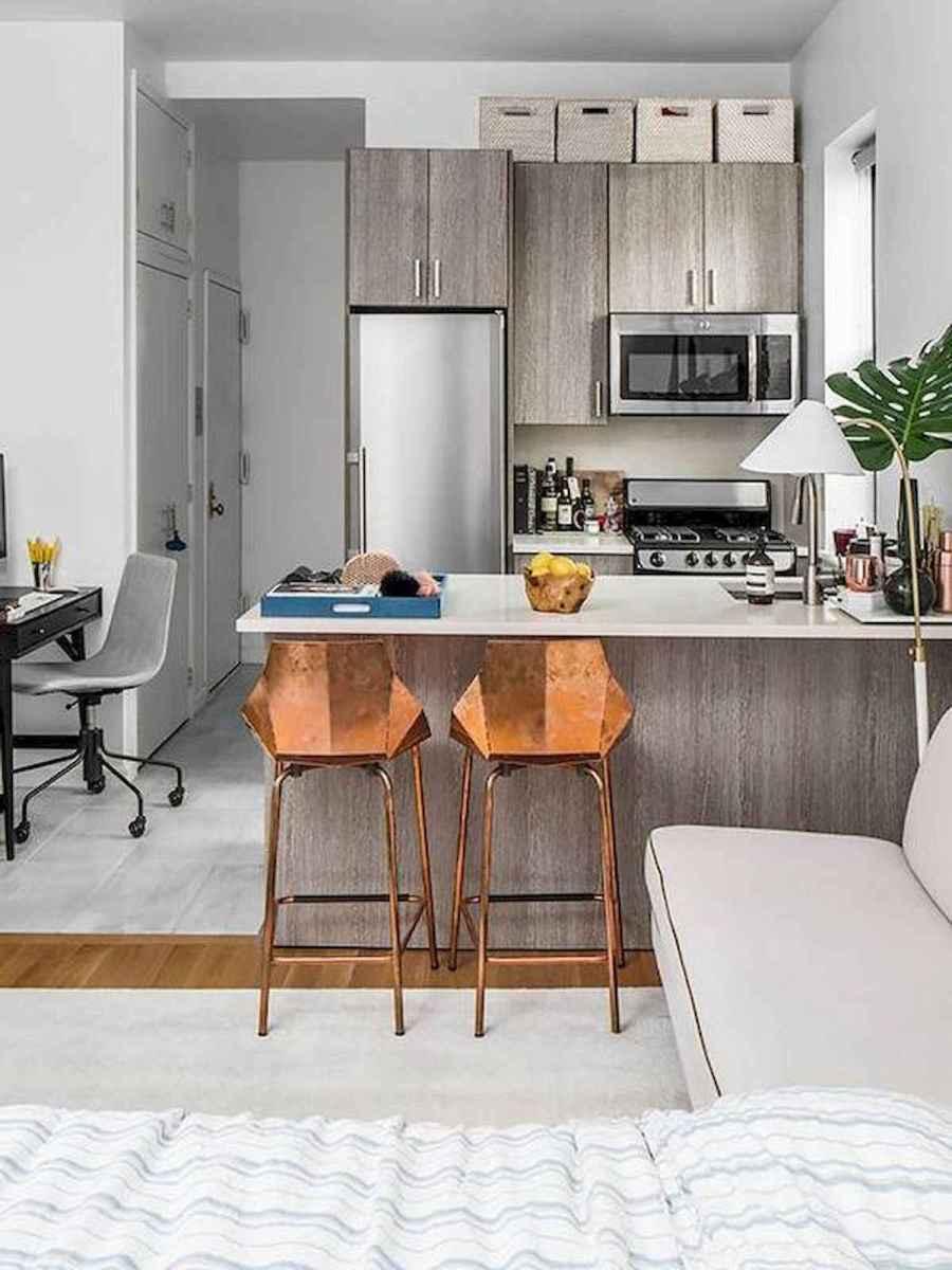 40+ Beautiful Studio Apartment Kitchen Decor Ideas And Remodel (20)