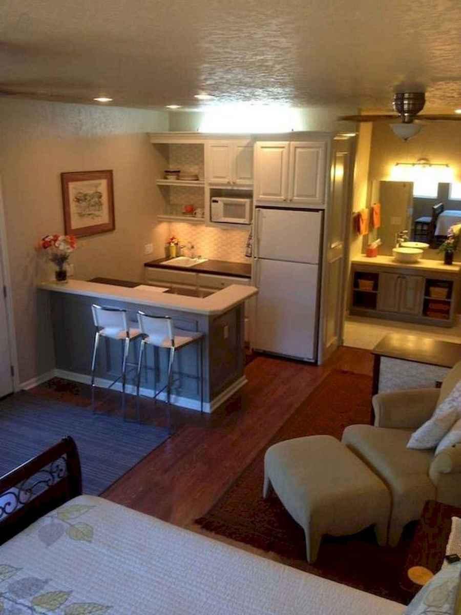 40+ Beautiful Studio Apartment Kitchen Decor Ideas And Remodel (4)