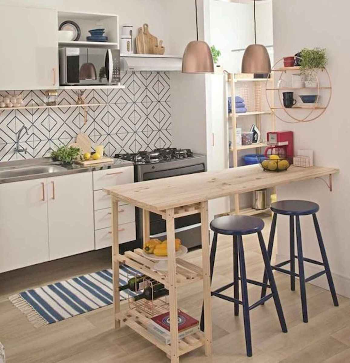 40+ Beautiful Studio Apartment Kitchen Decor Ideas And Remodel (8)