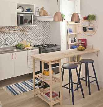 40+ Beautiful Studio Apartment Kitchen Decor Ideas And Remodel (8)