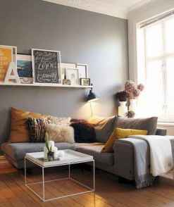 50+ Beautiful Small Living Room Decor Ideas And Remodel for Your First Apartment (48)