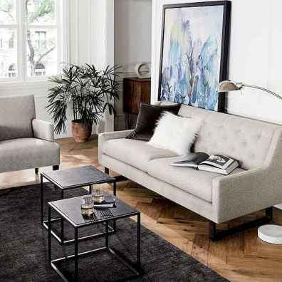 50+ Beautiful Small Living Room Decor Ideas And Remodel for Your First Apartment (5)