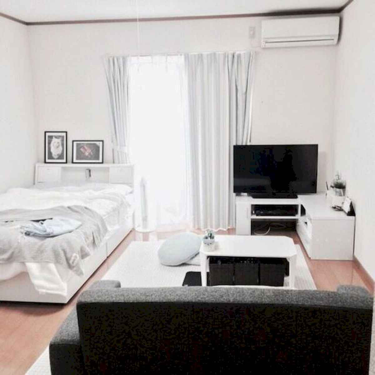 50+ Favorite Studio Apartment Bedroom Decor Ideas And Remodel (44)
