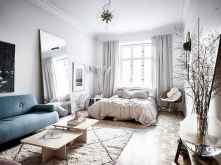 50+ Stunning Minimalist Studio Apartment Small Spaces Decor Ideas And Remodel (27)