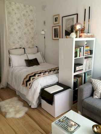 50+ Stunning Minimalist Studio Apartment Small Spaces Decor Ideas And Remodel (35)