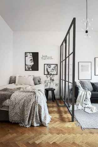 50+ Stunning Minimalist Studio Apartment Small Spaces Decor Ideas And Remodel (46)