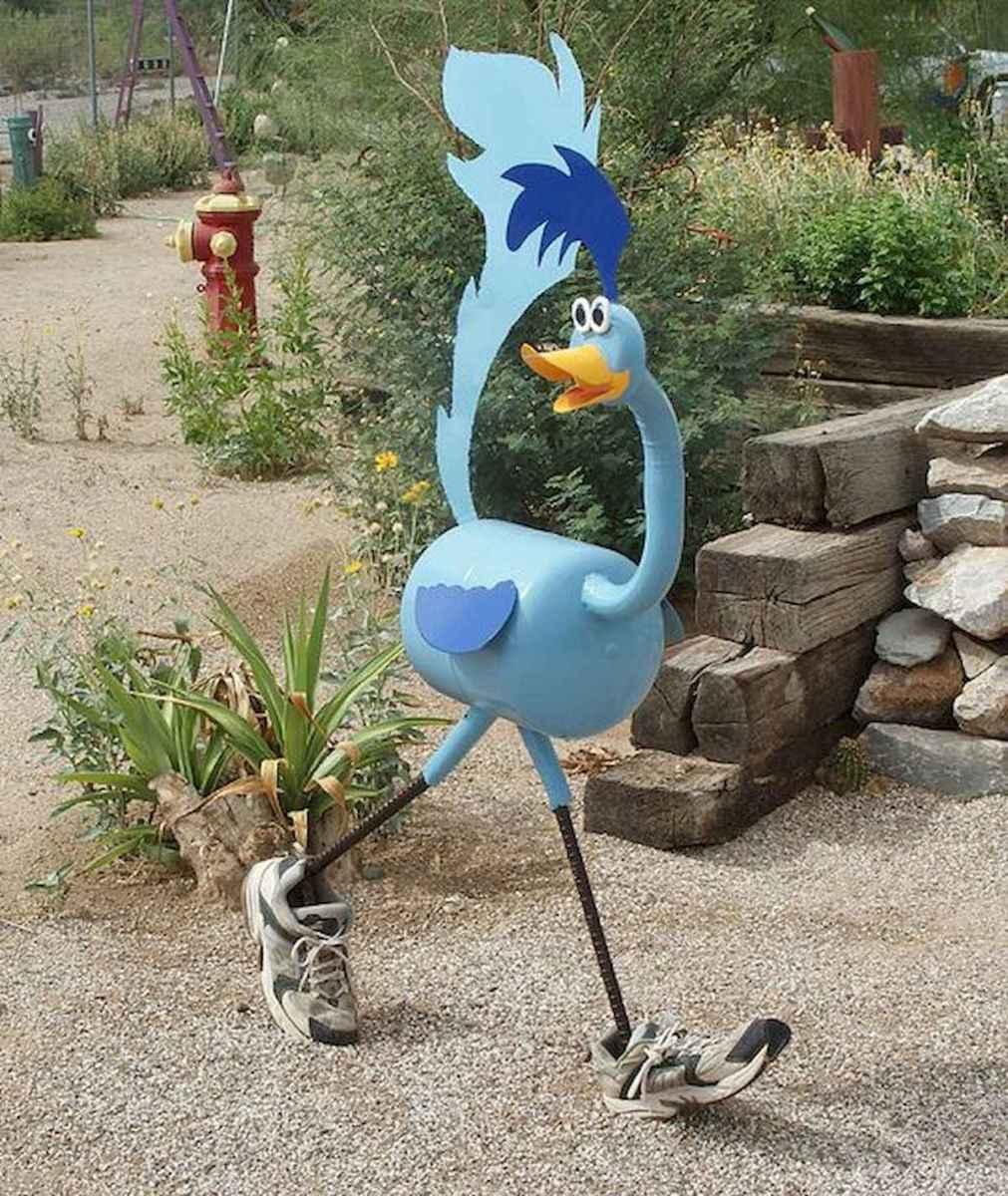 70 Best Metal Garden Art Design Ideas For Summer (14)