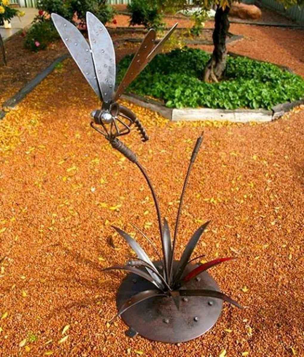 70 Best Metal Garden Art Design Ideas For Summer (40)