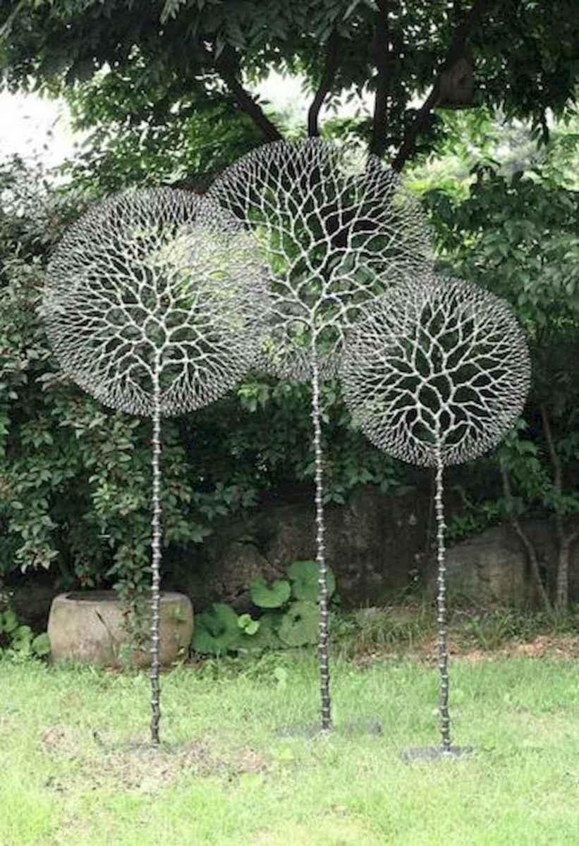 70 Best Metal Garden Art Design Ideas For Summer (6)