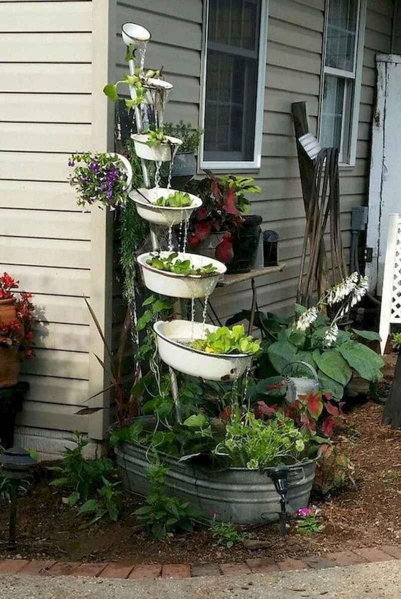 70 Creative and Inspiring Garden Art From Junk Design Ideas For Summer (34)