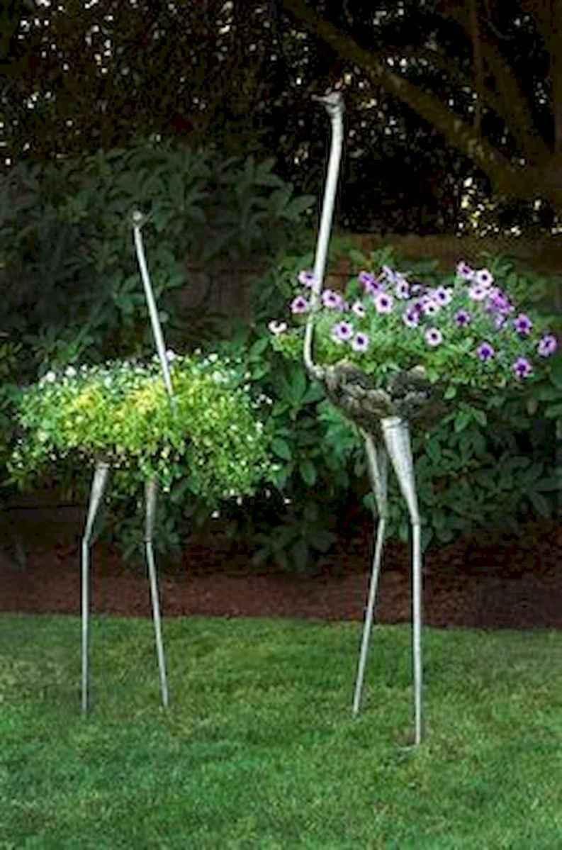 70 Creative and Inspiring Garden Art From Junk Design Ideas For Summer (45)