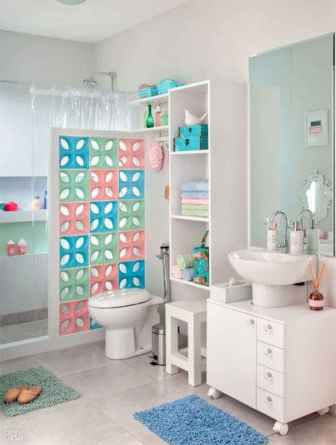 70+ Fantastic Colorful Bathroom Decor Ideas And Remodel for Summer Project (18)