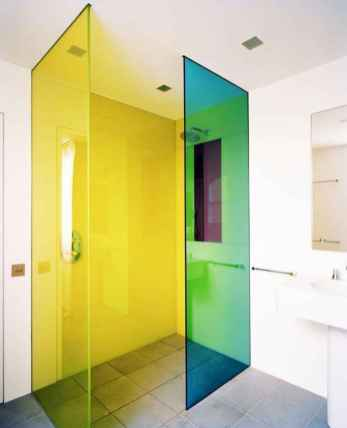 70+ Fantastic Colorful Bathroom Decor Ideas And Remodel for Summer Project (32)