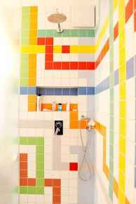 70+ Fantastic Colorful Bathroom Decor Ideas And Remodel for Summer Project (49)
