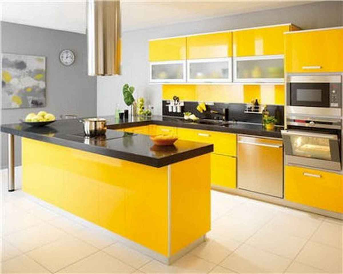 80+ Fantastic Colorful Kitchen Decor Ideas And Remodel for Summer Project (10)
