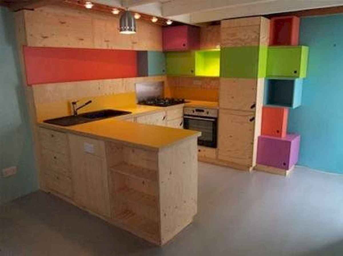 80+ Fantastic Colorful Kitchen Decor Ideas And Remodel for Summer Project (34)