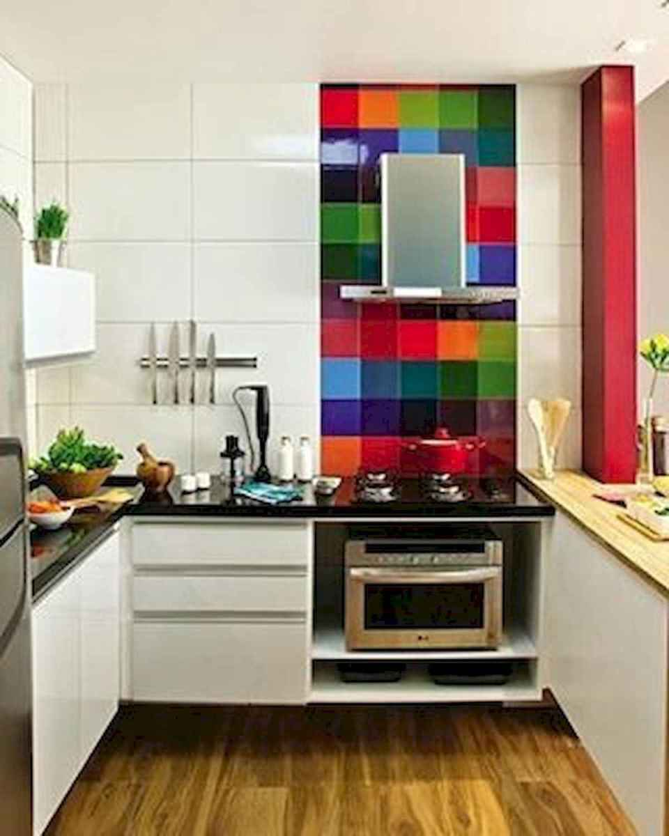 80+ Fantastic Colorful Kitchen Decor Ideas And Remodel for Summer Project (48)