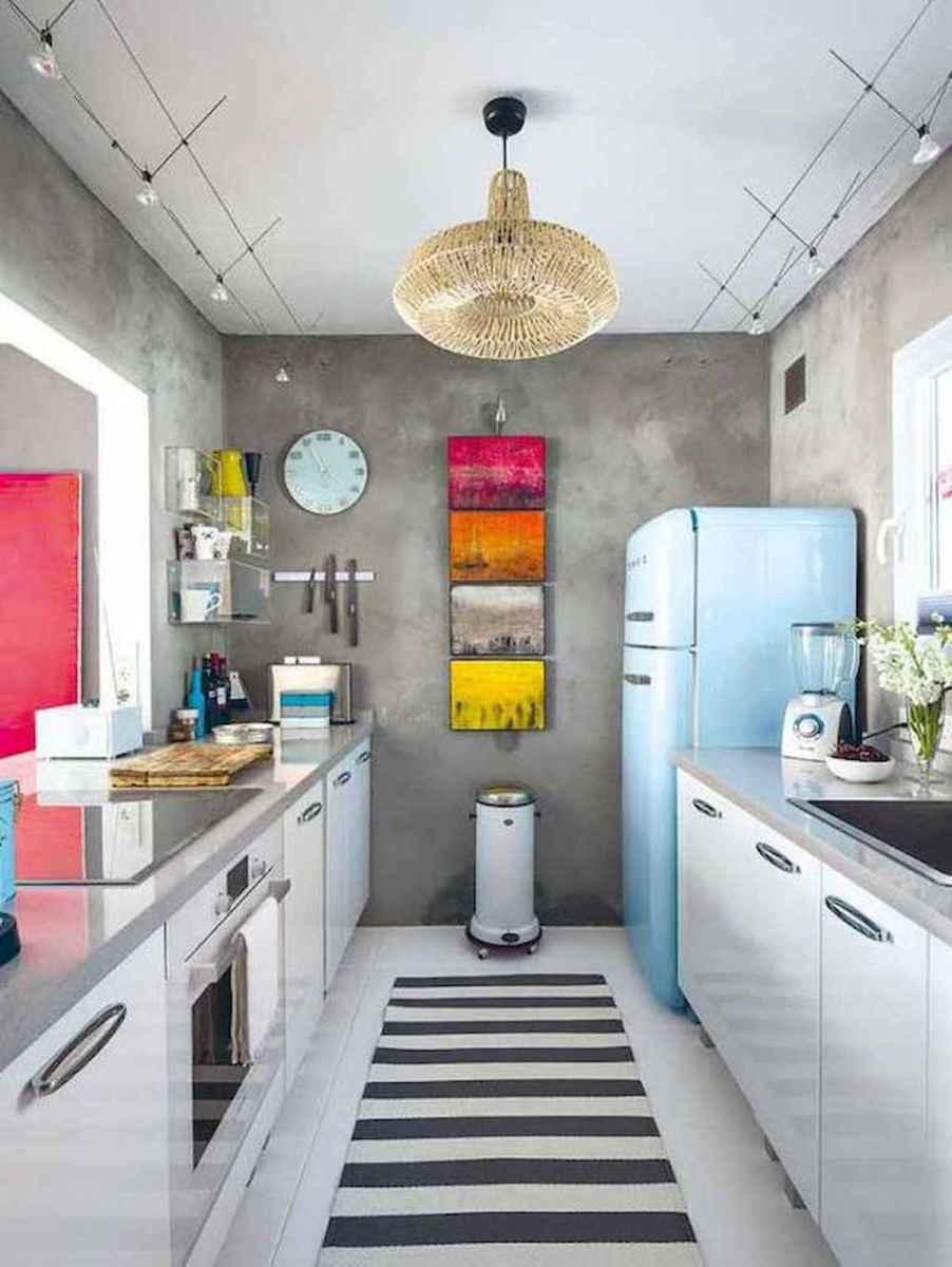 80+ Fantastic Colorful Kitchen Decor Ideas And Remodel for Summer Project (65)