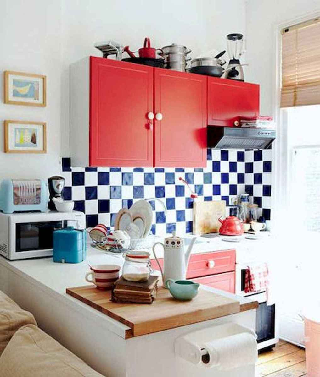 80+ Fantastic Colorful Kitchen Decor Ideas And Remodel for Summer Project (76)