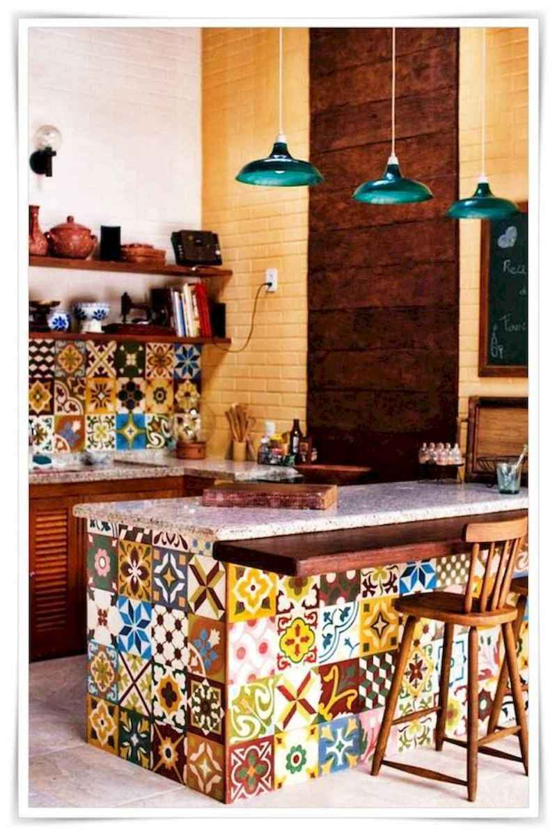 80+ Fantastic Colorful Kitchen Decor Ideas And Remodel for Summer Project (77)