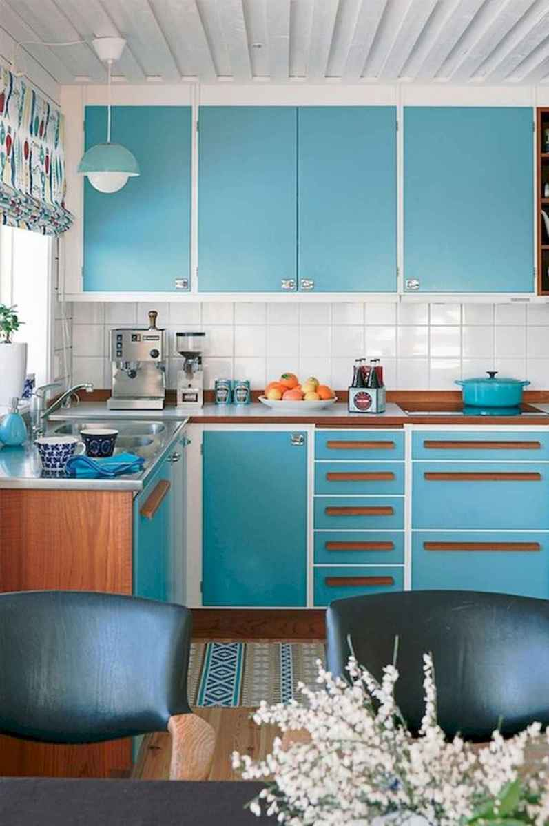 80+ Fantastic Colorful Kitchen Decor Ideas And Remodel for Summer Project (79)