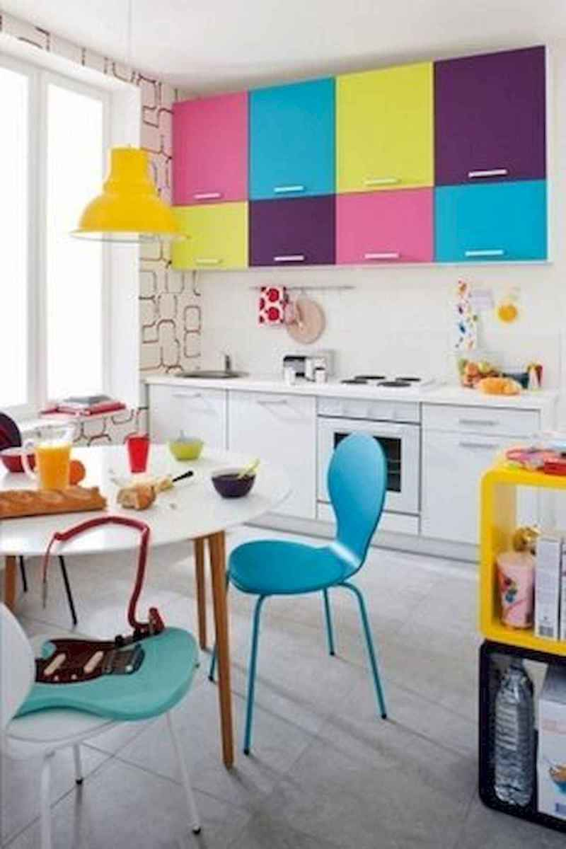 80+ Fantastic Colorful Kitchen Decor Ideas And Remodel for Summer Project (9)