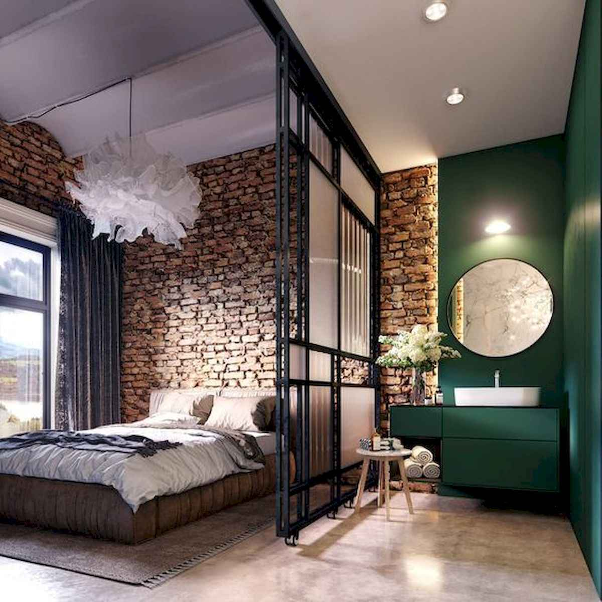 80+ Gorgeous Studio Apartment Divider Decor Ideas And Remodel (53)