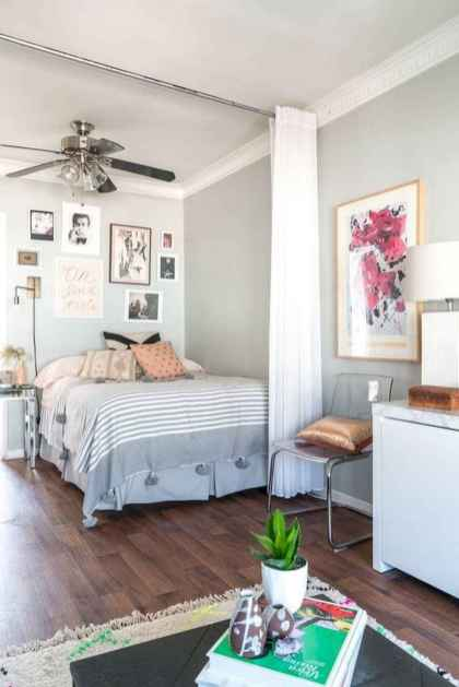 80+ Gorgeous Studio Apartment Divider Decor Ideas And Remodel (67)