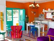 90+ Fantastic Colorful Apartment Decor Ideas And Remodel for Summer Project (53)
