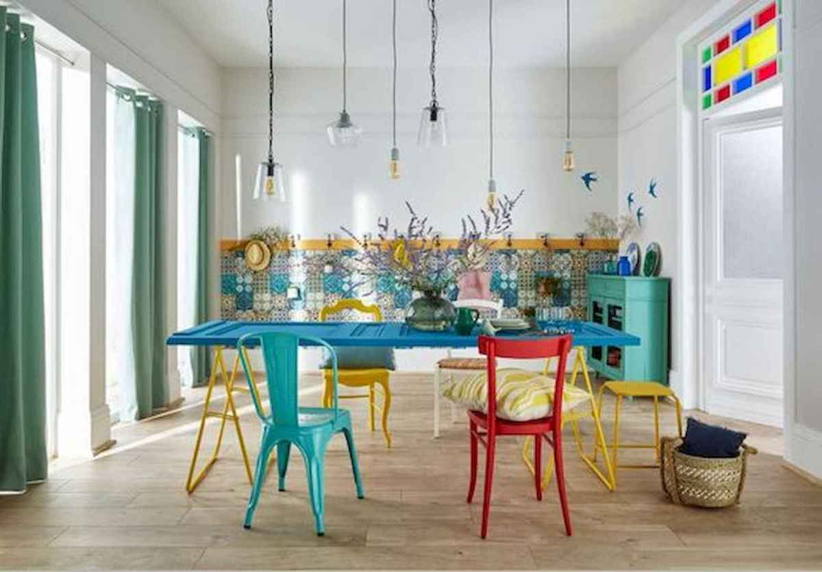 90+ Fantastic Colorful Apartment Decor Ideas And Remodel for Summer Project (66)