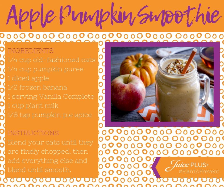 Apple Pumpkin Smoothie