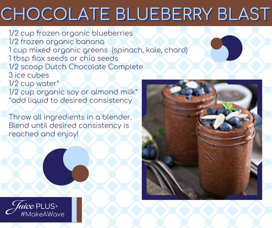 Chocolate Blueberry Blast