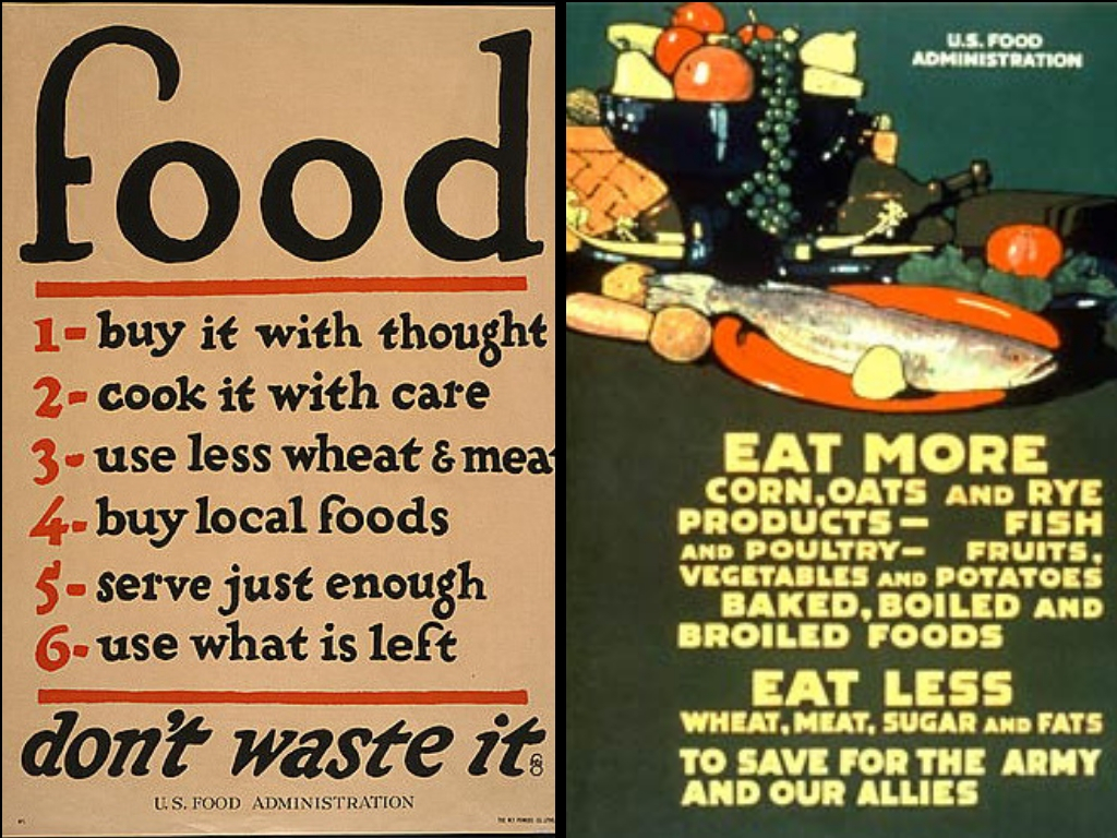 Meatless Monday USDA Food Poster