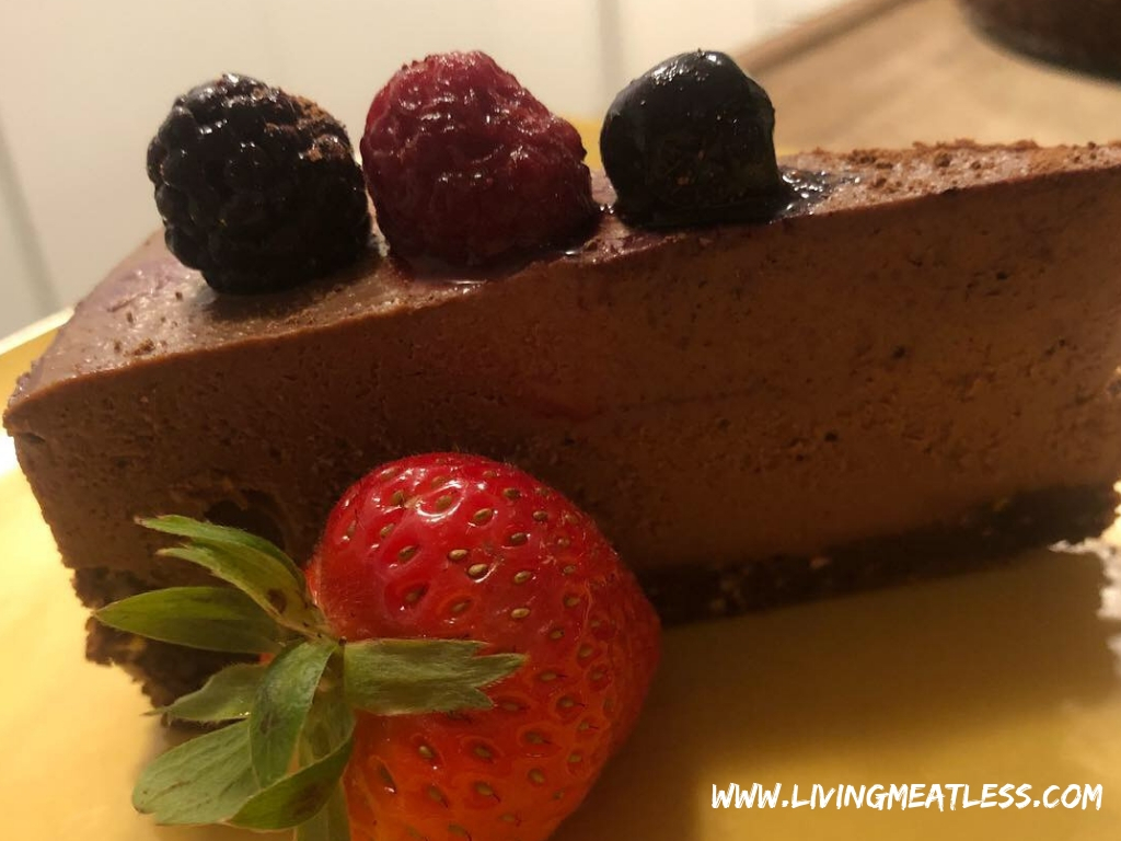 Raw Mocha Cheesecake