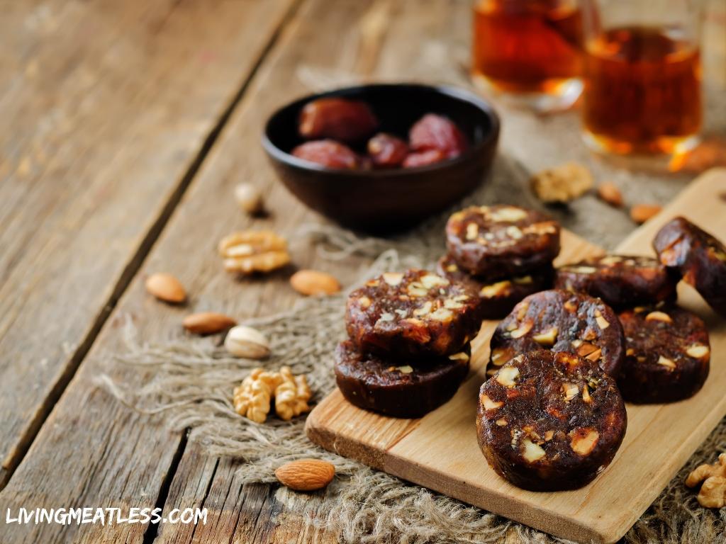 Raw Walnut Fudge