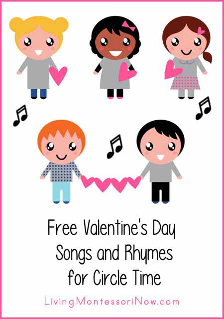 Free Valentine's Day Songs and Rhymes for Circle Time ...